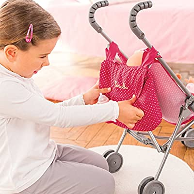 Corolle CLM96 Mon Classique Cherry Stroller Bag Doll: Toys & Games