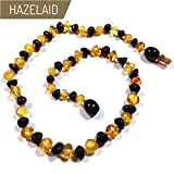 Hazelaid (TM) 14'' Pop-Clasp Baltic Amber Lemon & Cherry Necklace
