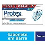 Sabonete em Barra Protex Limpeza Profunda Original 85g Promo 6un c/ Desconto