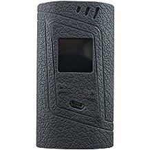 Smok Alien 220W Protective Gel Skin Case Cover Sleeve Wrap Fits 220 Watt Smoktech Alien 220 (Black)