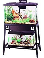 Aqueon Forge Aquarium Stand, 30 by 12-Inch