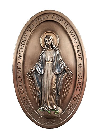 Studio Collection Miraculous Medal Wall Plaque, 8
