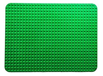 "Classic Big Briks Baseplate by Strictly Bricks | Premium Green Large 20"" x  15"" 