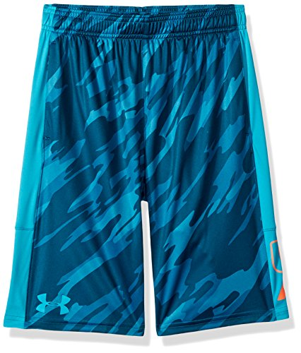 Under Armour Boys Instinct Printed Shorts Deceit (439)/Deceit Youth Large (Shorts Athletic Boys Youth)