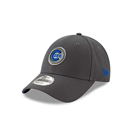 21541ec8d77 Image Unavailable. Image not available for. Color  New Era Chicago Cubs The  League Graphite 9FORTY Adjustable Hat Cap
