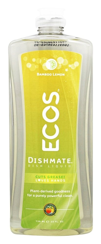 Earth Friendly - ECOS Dishmate Dish Liquid Bamboo Lemon - 25 fl. oz.