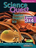 Science Quest Teacher Support Kit Books 3and 4 Essential Learning Edition and CD-ROM (Science Quest Series)