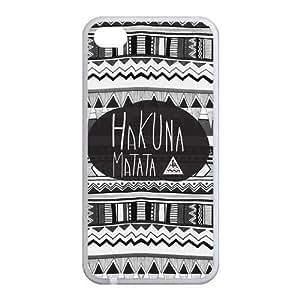 Custom Aztec Tribal Back case for iphone4,4S JN4S-364