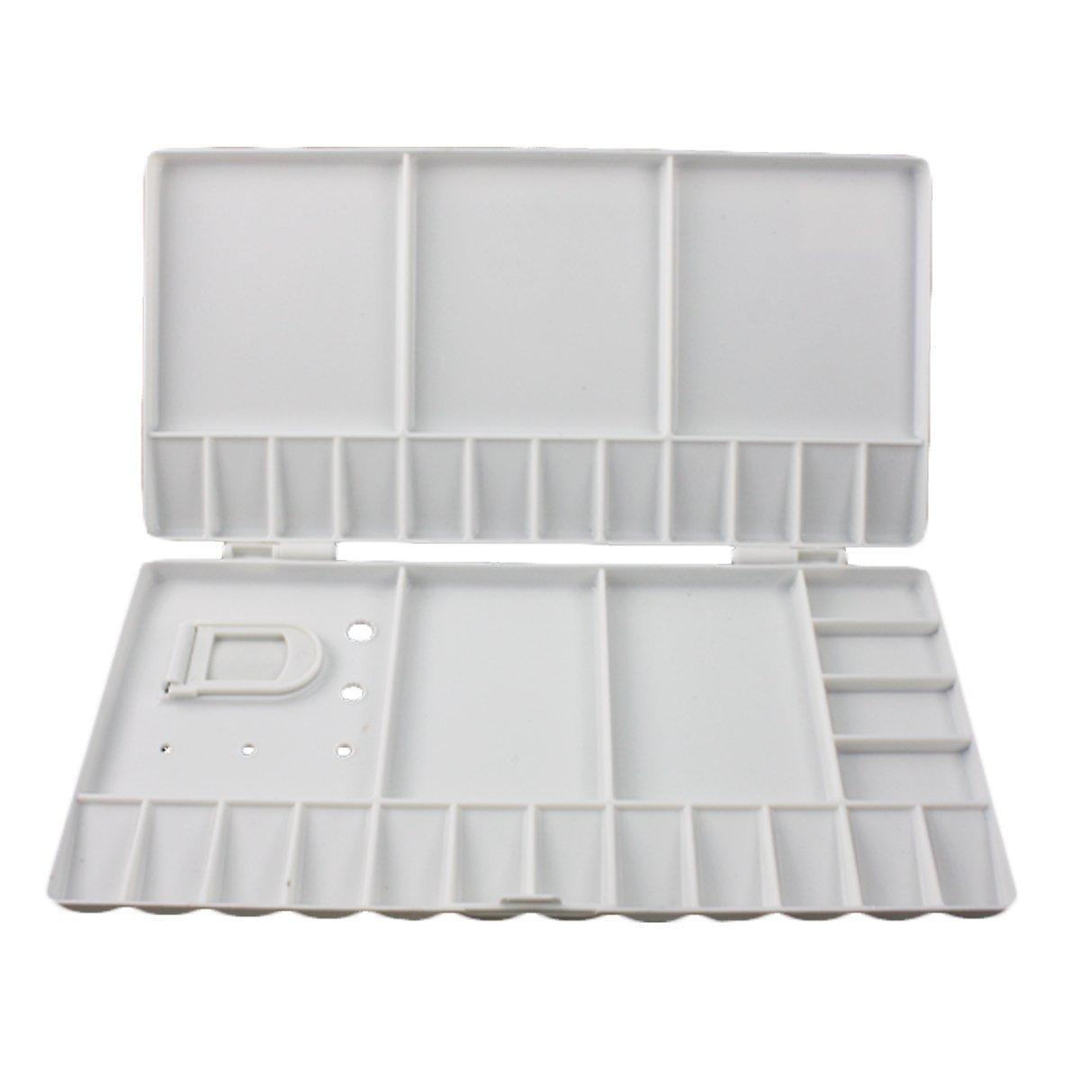 Artoop Large Plastic Folding Paint Palette 33-Wells Watercolor Gouache Oil Acrylic anamel Ltd