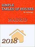 Simple Tables of Houses for Astrology Madrid 2018