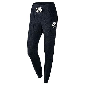3590605c1e3b9 Nike Vintage Pantalon de survêtement Femme, Noir/Sail, FR (Taille Fabricant  :