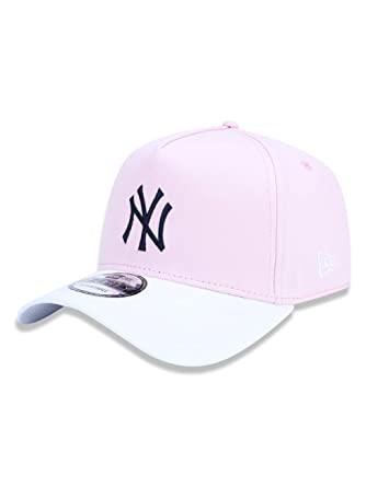 9139a51b1f34f BONE 940 NEW YORK YANKEES MLB ABA CURVA SNAPBACK ROSA NEW ERA ...