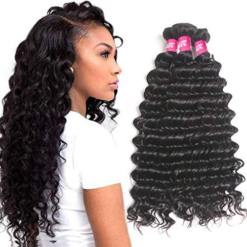 Odir 9A Brazilian Deep Wave Human Hair 3 Bundles 16