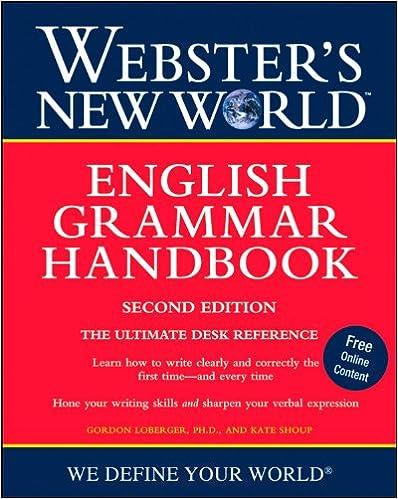 Handbook Of English Grammar And Usage Pdf