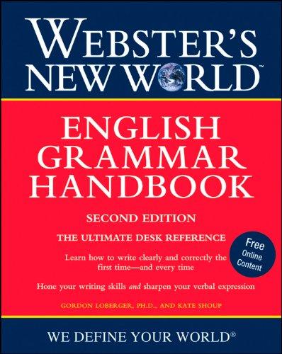 Webster's New World English Grammar Handbook, Second - Grammar Webster English