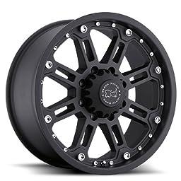 BLACK RHINO ROCKWELL 17x9.0 6/135 ET12 CB87.1 MATTE BLACK