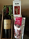 Mercer Estates Merlot gift pack with Chukar