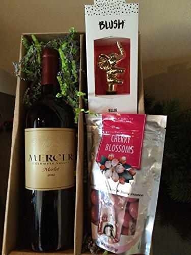 Mercer Estates Merlot gift pack with Chukar