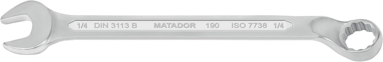 gekr/öpft MATADOR 0190 8014 Ringmaulschl/üssel 1 AF