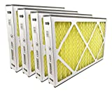 Sterling Seal P1200-16X25X3X4 P1200 Purolator High End Filter, Replacement for Trion Air Bear ''Cub'', 16'' x 25'' x 3'' (Pack of 4)