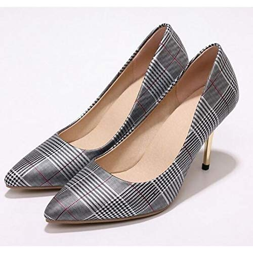 Shoes Red Black Heels Women'S QOIQNLSN Black Comfort Heel Stiletto Spring Suede Blue 5RzqS