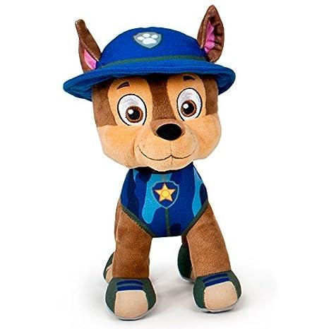 Peluche Marshall Patrulla Canina Paw Patrol Jungle soft 19cm: Amazon.es: Juguetes y juegos
