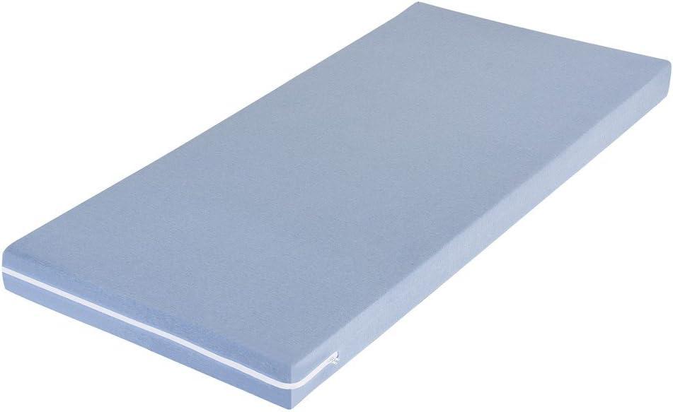 Materasso per Bambini MSS/® Tinta Unita 90 cm x 190 cm Blu M/&Ms MSS