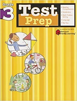 Test Prep: Grade 3 (Flash Kids Harcourt Family Learning) (2005-06-20)