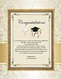 Medical School Graduation Poetry Congratulations Print For Physician or Doctor Graduate Alumni Present Personalized 11x14 Unframed Matted