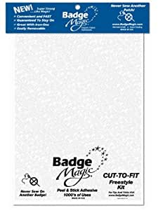 Badge Magic Cut to Fit Freestyle Kit/Adhesive