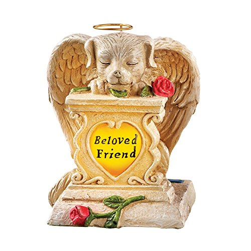 Solar Pet Memorial Garden Figurine