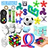 28 Pack Sensory Toys Set, Relieves Stress and Anxiety Fidget Toy for Children Adults, Special Toys Assortment for Birthday Party Favors, Classroom Rewards Prizes, Carnival, Piñata Goodie Bag Fillers