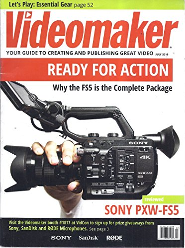 Stand Sony A/v (Videomaker Magazine (July 2016 - The Sony PXW-FS5 Is The Complete Package))