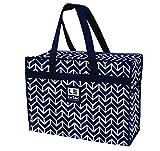 LeSac Super Lightweight Travel Bag Airline Approved Size Carry-on Personal Bag Weekender Duffel Bag Shoulder Tote, 2 Pk