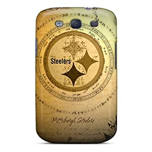 Anti-scratch And Shatterproof Pittsburgh Steelers Phone Case For Galaxy S3/ High Quality Tpu Case