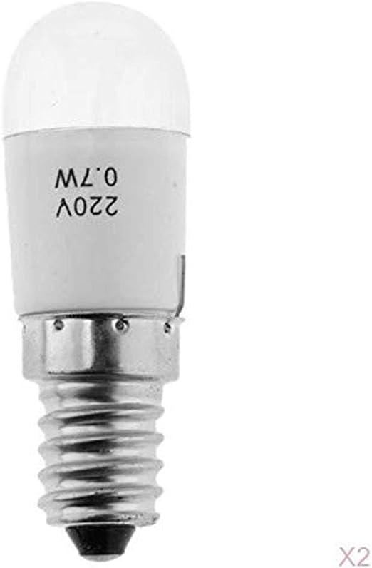 2 Bombillas LED para máquina de Coser, 220 V, 0,7 W, para Brother ...
