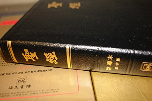 The Ultimate Chinese Study Bible / Luxury Black Leather-bound Edition, Golden Edges, Words of Christ in Red, Color Maps, Footnotes / 中文聖經啟導本 / Traditional Script