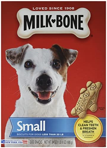 Jm Smucker Retail Sales Dog Treats MILKBONE 24OZ SM Dog