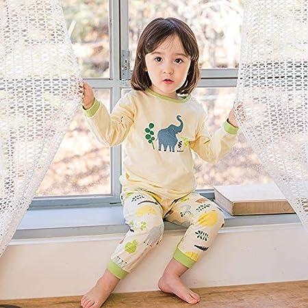 EETYRSD Ropa for niños, Traje de chándal Pijamas bebé bebés del ...