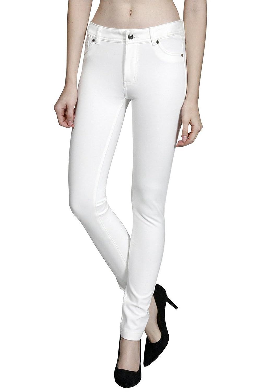 2LUV Women's Ponte Stretch Skinny Pants