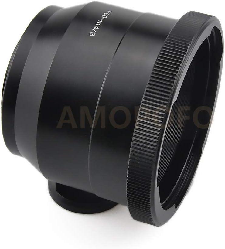 P60 to 4//3 Adapter,for Pentacon 6 P60 Kiev Lens to for Olympus OM 4//3 Adapter E-5 E-620 E-450 E-30 Camera