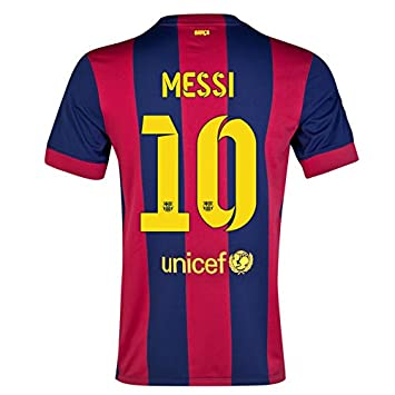 Nike FC Barcelona estadio hombres camiseta, color - Messi 10, tamaño S/contorno