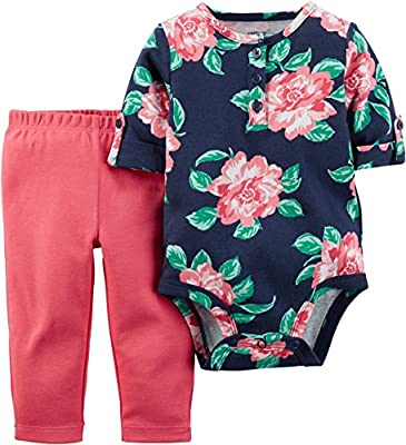 Carter's Baby Girls' 2 Piece Set (Baby) by Carters that we recomend individually.