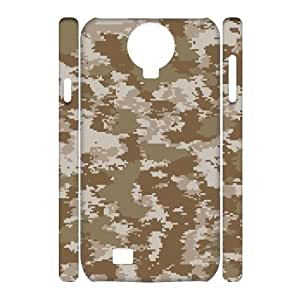 ALICASE Diy Case Camouflage Cover For Samsung Galaxy S4 i9500 [Pattern-1]