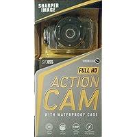 Sharper Image Go Full HD Pro Action Cam 1080p 12MP