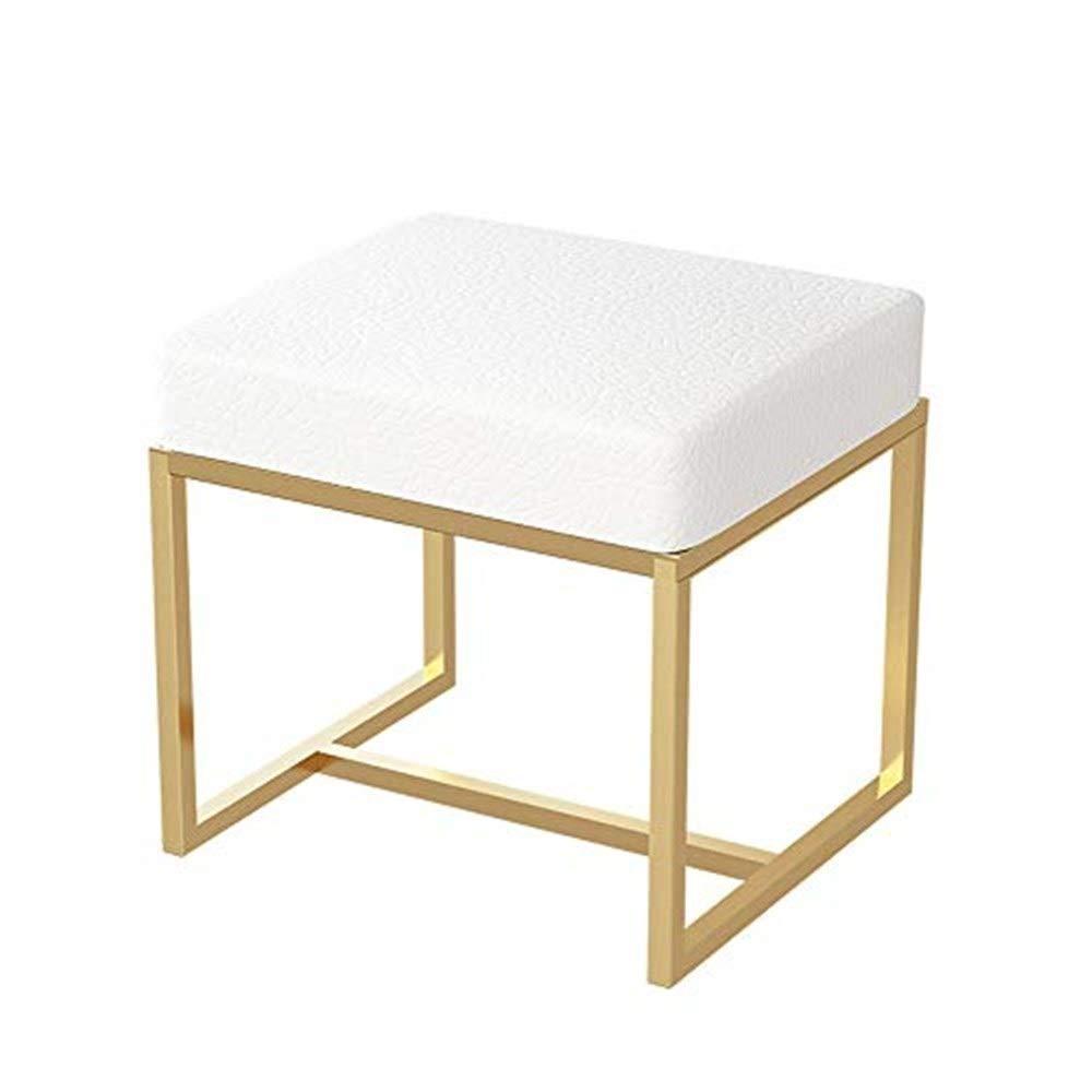 ヨーロッパの椅子の方法柔らかい袋の椅子、構造の腰掛けのソファーのベンチ GMING (色 : 白) B07RKNT46N 白