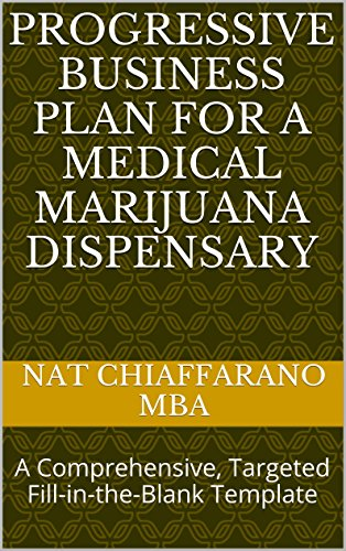 Progressive Business Plan for a Medical Marijuana Dispensary: A Comprehensive, Targeted Fill-in-the-Blank Template Pdf
