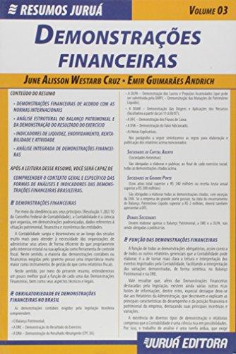 Demonstrações Financeiras - Volume 3. Coleção Resumos Juruá