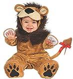 Rubie's Cuddly Jungle Lil Lion Romper Costume, Golden, 12-18 Months