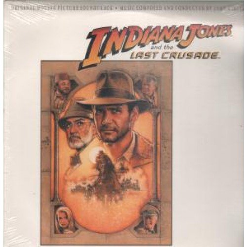 Indiana Jones and the last crusade (soundtrack, 1989) / Vinyl record [Vinyl-LP]